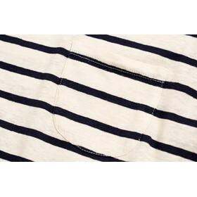 United By Blue Standard Striped Lyhythihainen Taskullinen T-paita Naiset, blue